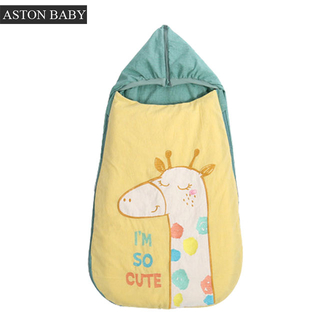 Four Seasons Universal Baby Sleeping Bag/cotton Filling Removable