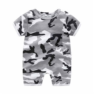 Camouflage Baby Bodysuit