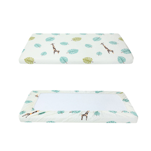 100% Cotton Print Baby Bedding Crib Sheet