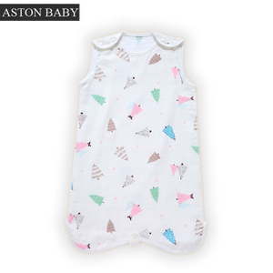 100% Cotton Sleeveless 0.5 Tog Baby Sleep Bag