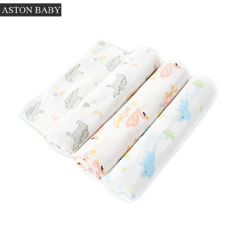 100% Cotton Muslin Baby Blanket
