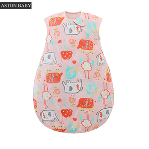0.5 Tog Muslin Sleeveless Summer Baby Sleeping Bag