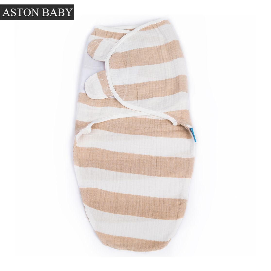 100% Cotton Prewashed Muslin Print 0.5 Tog Baby Swaddle Bag