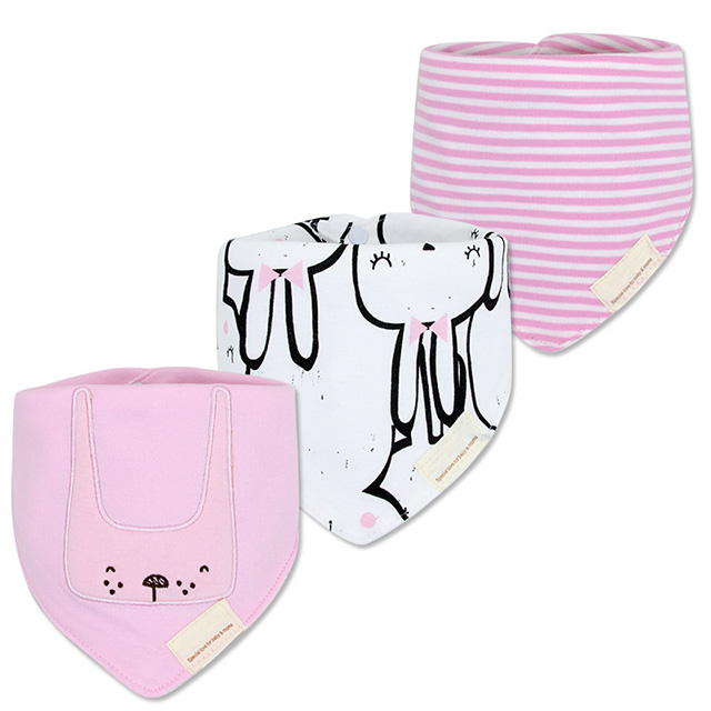 interlock and terry fabric comosite baby bibs